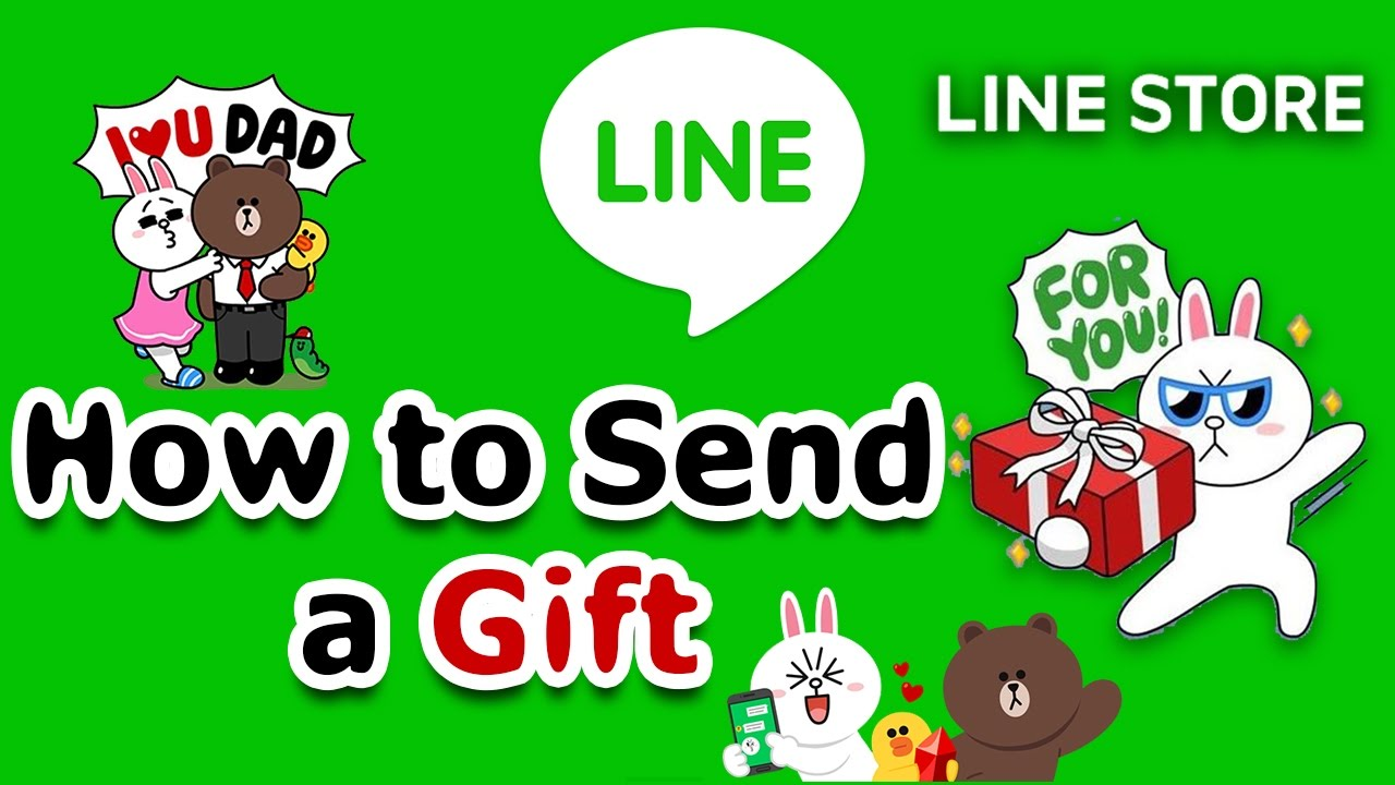 How to purchase line sticker and send line sticker as a gift youtube how to purchase line sticker and send line sticker as a gift negle Gallery