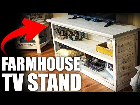 Modern Farmhouse TV Stand