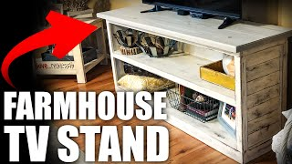 Modern Farmhouse TV Stand