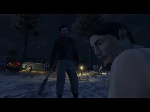 Walking Dead Season 7 Negan Kills Glenn and Maggie but Shiva Saves the Day in GTA 5