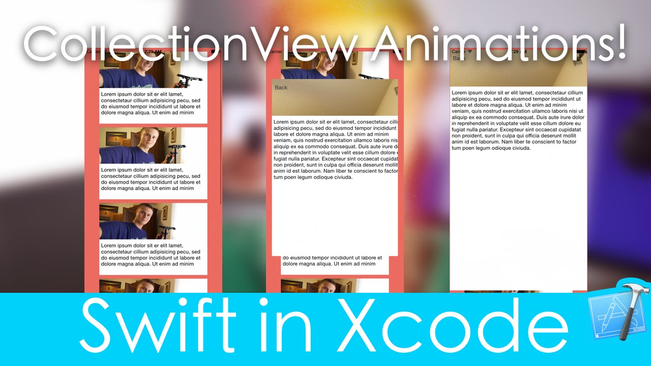 Collection View Animations! (Swift in Xcode)