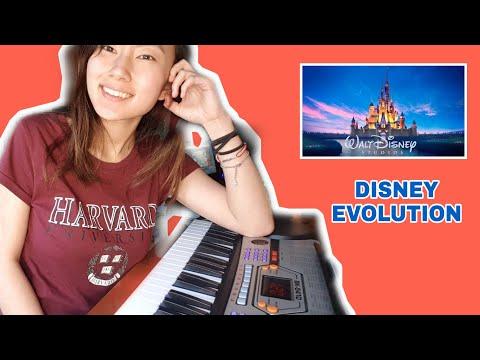 Evolution of Disney Soundtracks/Theme Songs - Piano Cover