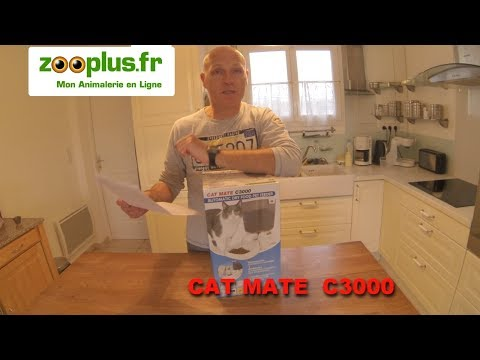 Distributeur De Croquettes Pour Chat Ou Petit Chien - J'ai Testé Pour Vous Le CAT MATE C3000. !