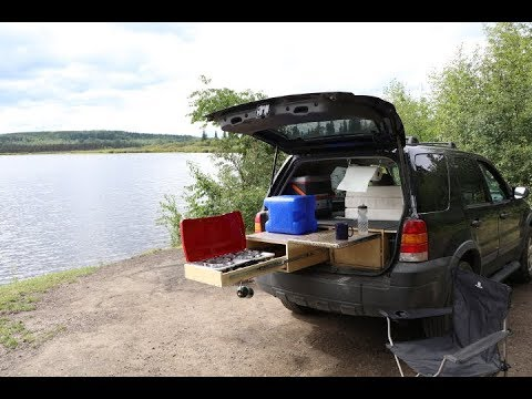 How To Convert Suv To A Camper Youtube