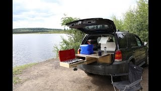 HOW TO CONVERT SUV TO A CAMPER.FORD ESCAPE.