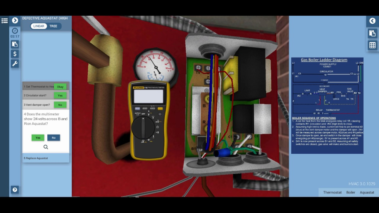 Gas Boiler Highlimit Troubleshooting - YouTube