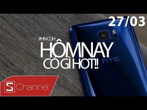 Schannel - #HNCGH 27/3: HTC U vừa ra đã giảm giá, StarCraft hồi sinh, iPhone 7 chạy Windows Vista