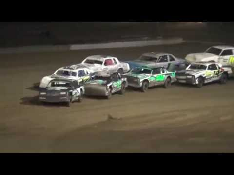 IMCA Hobby Stock Championship feature Independence Motor Speedway 8/27/16