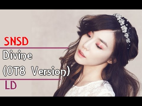 SNSD - Divine (Line Distribution) [OT8 Version]