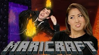 ESCAPE FROM THE MINECRAFT NETHER (MariCraft)