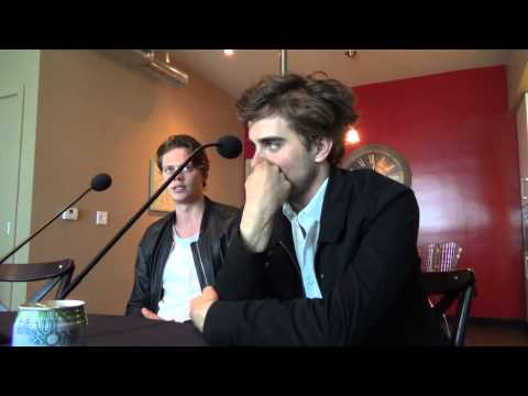 Roundtable  with Landon Liboiron and Bill Skarsgard for Hemlock Grove
