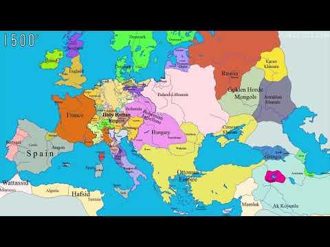 Как менялась политическая карта мира