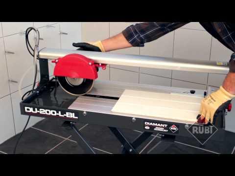 Rubi DU-200-L-BL Electric Wet Tile Cutter