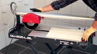 Rubi DU-200-L-BL Electric Wet Tile Cutter