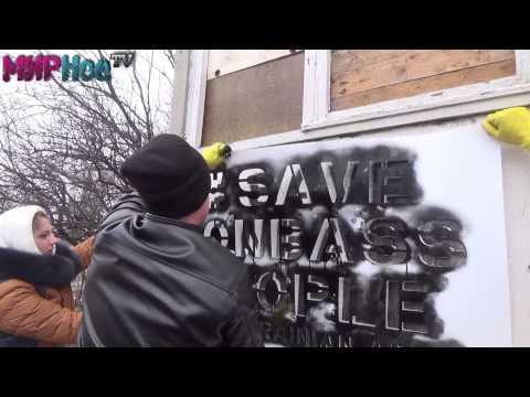 Спаси Донбасс. Разрушенная