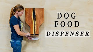 How to Make a Dog Food Dispenser