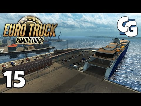 Euro Truck Simulator 2 - Ep. 15 - Chelmsford to Esbjerg