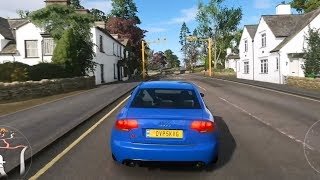 Forza Horizon 4 - Audi RS4 2006 - Open World Free Roam Gameplay (HD) [1080p60FPS]