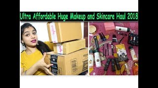 Affordable Makeup and Skincare Haul | Kajal @ Rs. 43 Only  😍 | Beauty Secrets Reality