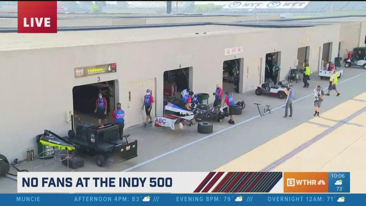 Bad Luck Bites Scott Dixon Again During Indy 500