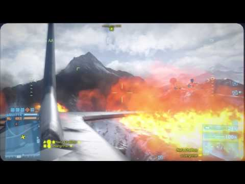 BF3 - Armored Kill gameplay footage - AC130 - Jihad ATV Alborz Mountain Armored Sheild and More