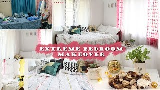 DIY INDIAN extreme bedroom MAKEOVER | DIY home decor