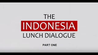 Indonesia Lunch Dialogue @ World Economic Forum Davos 2016 [Part 1 of 2]