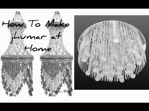 How To Make Jhumar At Homevery Simple Design Hai Jhumar Kaple Like Comment And Subscribe