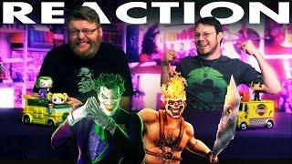 Joker VS Sweet Tooth Death Battle REACTION and SLAPBET!!