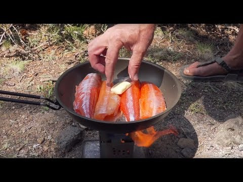 11K Camping Remote Wilderness Lakes For Firebox Stove Trout.