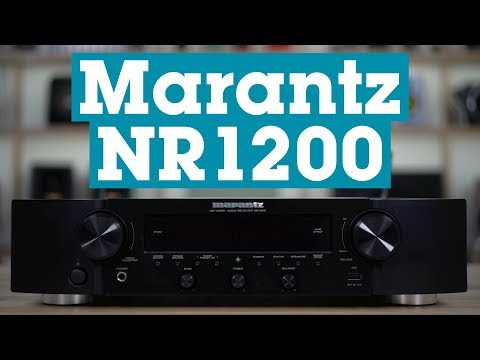 Marantz NR1200 Stereo Network Audio Receiver | Crutchfield