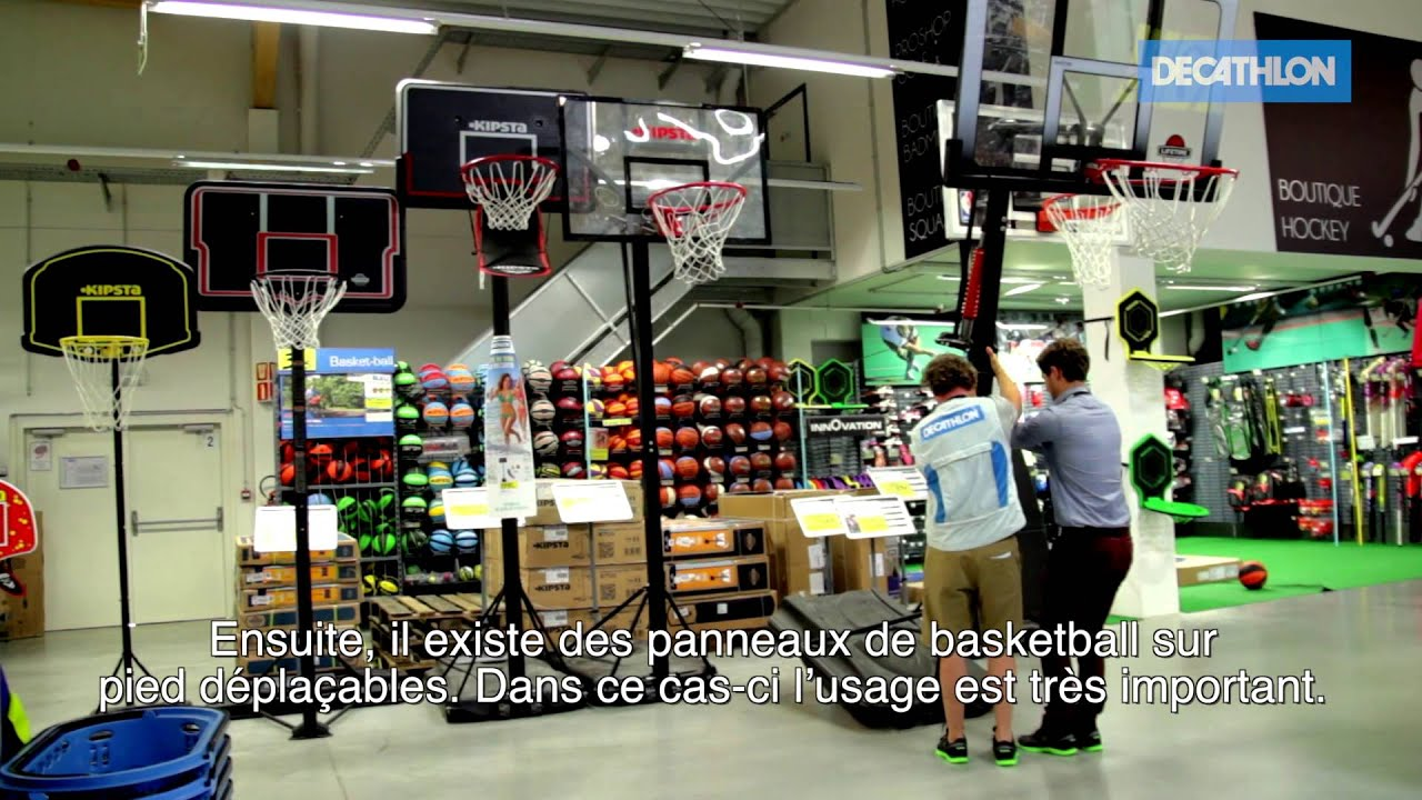 decathlon panier de basketball youtube. Black Bedroom Furniture Sets. Home Design Ideas