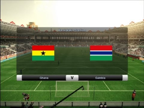 PES 2012 | Ghana - Gambia | Africa Cup of Nations 2013 Semi-final