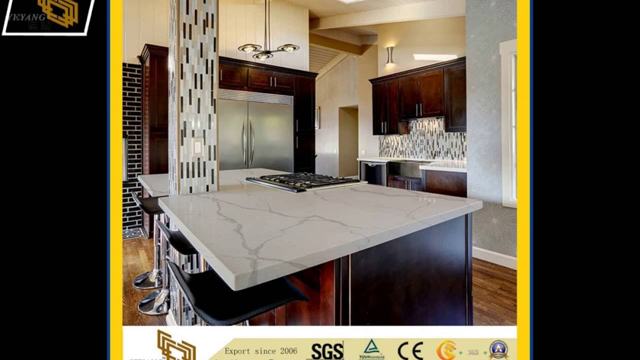 Engineered Countertops| Engineered Quartz Kitchen Countertops Cost From  YEYANG Stone Group
