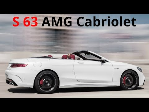 2018 Mercedes S 63 AMG Cabriolet 4MATIC+ - 612 Hp Engine Exhaust Sound And Design