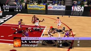 NBA Live 98 - Lakers vs Bulls NBA Finals