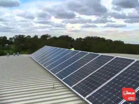 LJW Solar test system in Dural Sydney