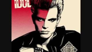 Billy Idol - Dancing with myself (Lyrics)