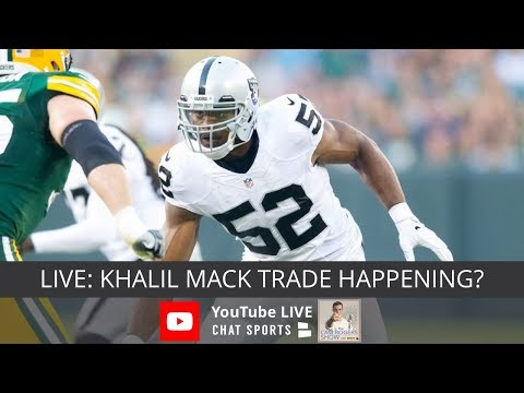 Dez Bryant Visiting Browns, Khalil Mack Trade, NFL Rumors, & Urban Meyer Scandal News