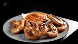 Сладкий перечный соус с креветками на гриле - рецепт от Гордона Рамзи
