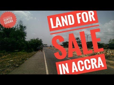 LAND IN ACCRA FOR SALE - AIRPORT WEST RESIDENTIAL AREA