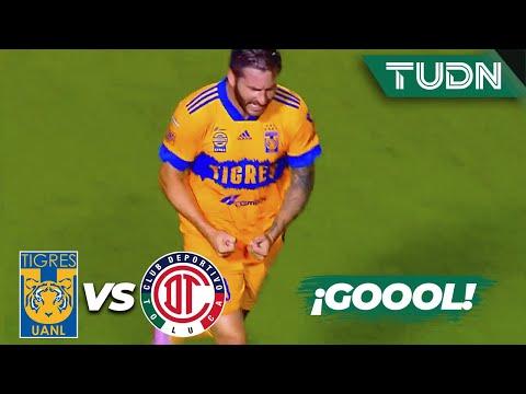 ¡EL REY! ¡Qué GOLAZO de Gignac! | Tigres 2-0 Toluca | Guard1anes 2020 Liga Mx  | TUDN