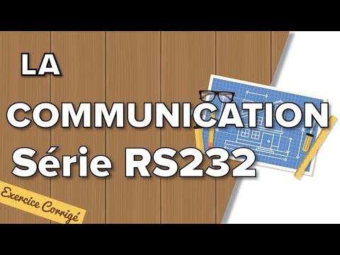 Communication Série RS232 (exercice Corrigé) - Terminale SI / STI2D