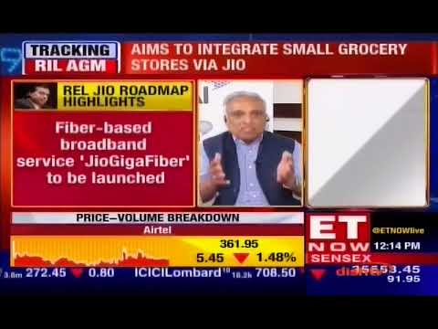 Mr. Rajan S Mathews, DG COAI On The RIL AGM 2018 | ET NOW