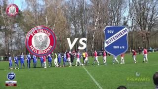 26.03.2017 TSV Botenheim vs FC Union Heilbronn