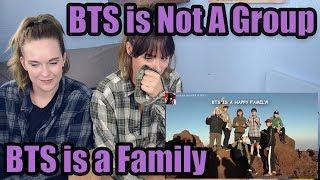 BTS is a Family Fan Reaction (Friendship Appreciation!)