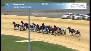 NEWCASTLE - 17/02/2015 - Race 1 - NBN TELEVISION PACE