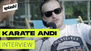 Interview: Karate Andi mit Gulaschteller und Prosecco Gin (splash! Mag TV) (Archiv)