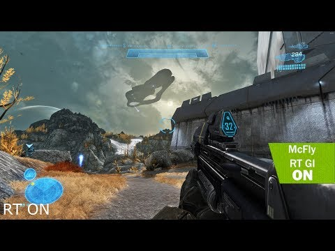 4K Halo Reach MCC - Raytracing GI - Ultra graphic comparison - Gameplay