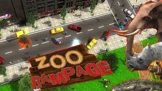 Zoo Rampage Gameplay - Angry Animals PC HD